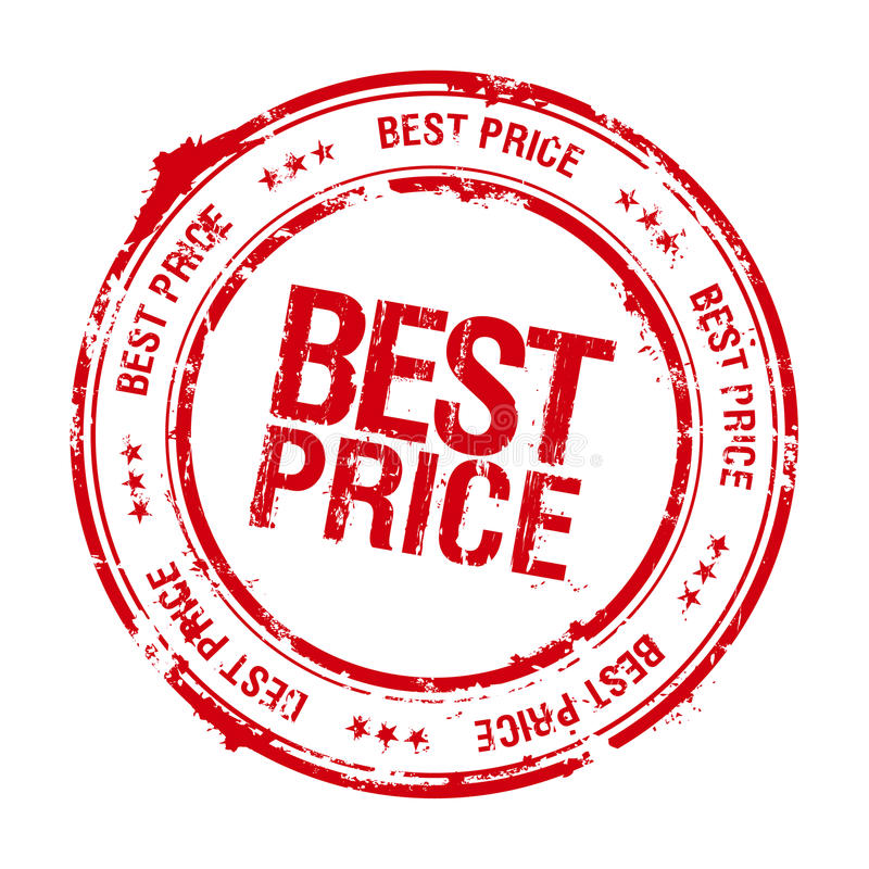 最佳的价格印花税 库存例证. 插画 包括有 办公室, 标签, 质量, 文书工作, 商业, 图象, 例证, 过帐