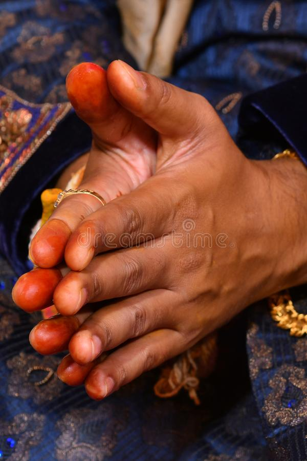 最佳的印度婚姻新娘和新郎图象,储蓄照片 免版税库存图片