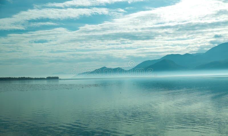 最佳的湖在欧洲, Skadar湖 免版税库存照片