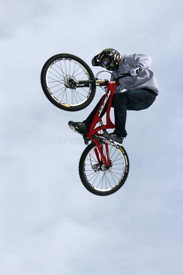最佳的自行车teva窍门 免版税图库摄影