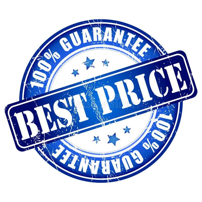 最佳的价格标签与 向量例证