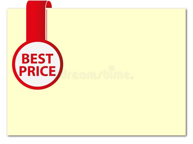 最佳的价格 免版税库存照片