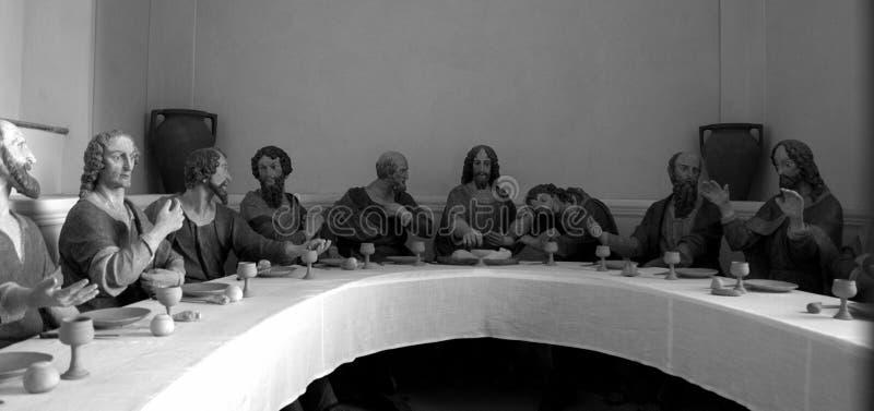 最后的晚餐/L ultima cena 库存图片