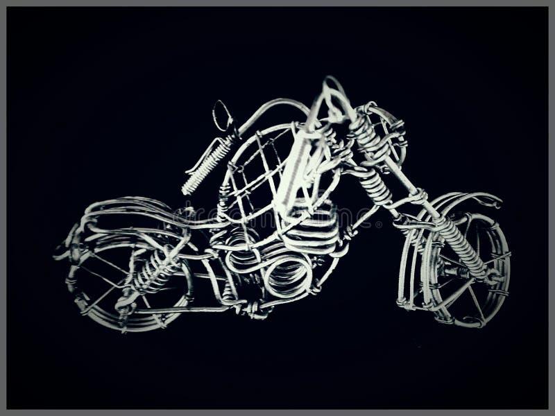 最基本的自行车 库存图片