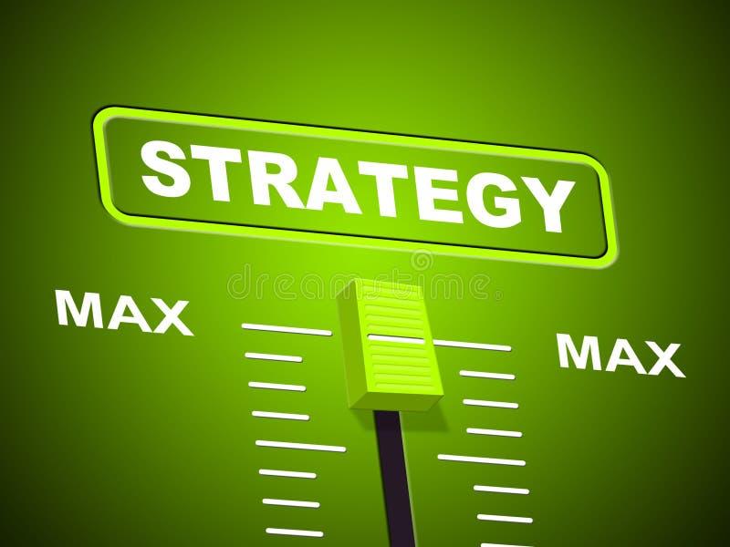 最大战略显示上限和极端 库存例证