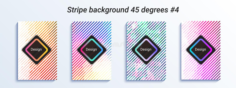 最小的镶边bakcground设计 五颜六色的半音梯度 明亮的几何模式 也corel凹道例证向量 皇族释放例证