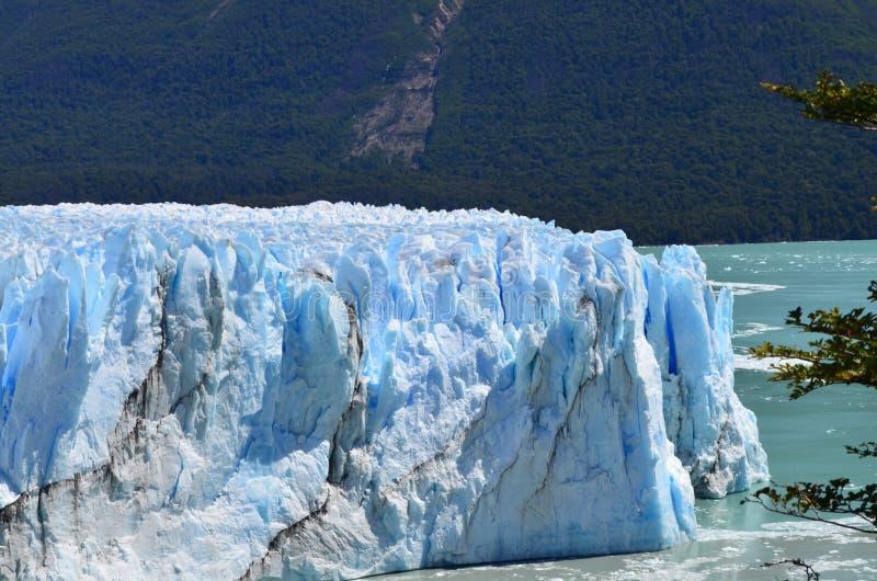 最美好的地方的冰山佩里托莫尔诺一在阿根廷 库存图片
