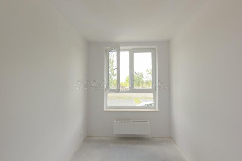 最近被修建的室内部 免版税库存图片
