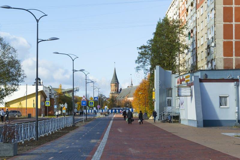 最近被更新的街道 免版税库存照片