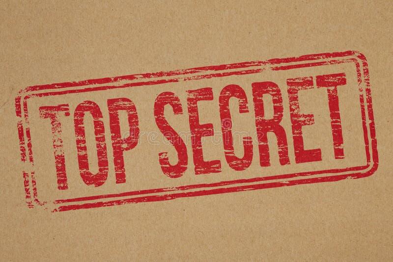 最高机密 免版税库存照片