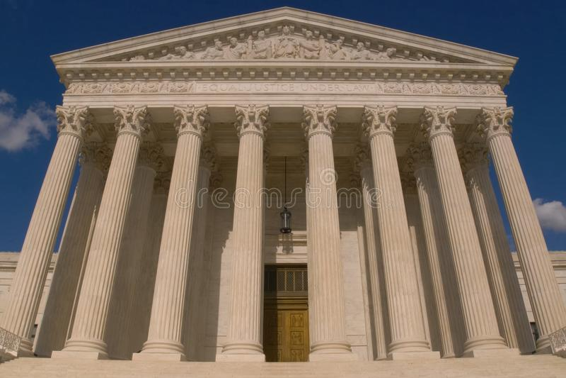 最高裁判所修造 图库摄影