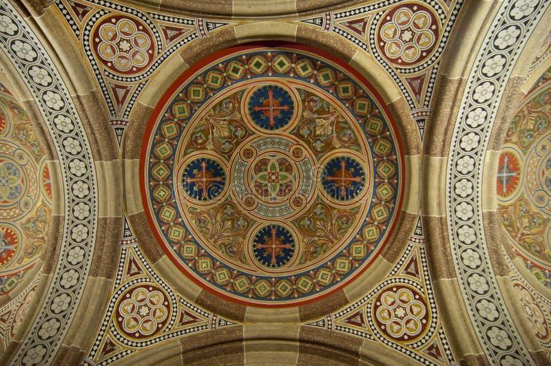 最高限额传统教会的装饰 库存图片