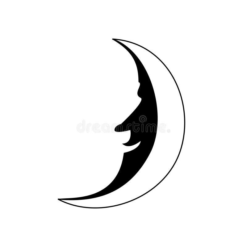月亮人 图库摄影