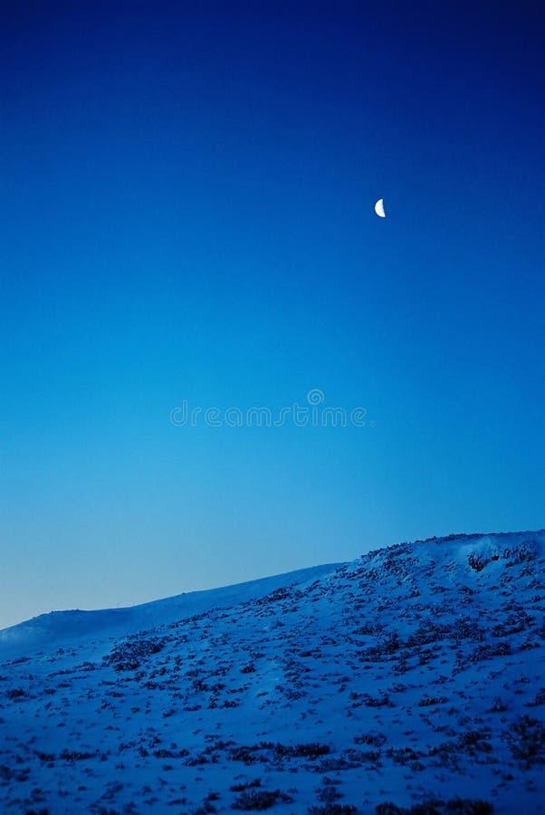 月亮山 库存图片