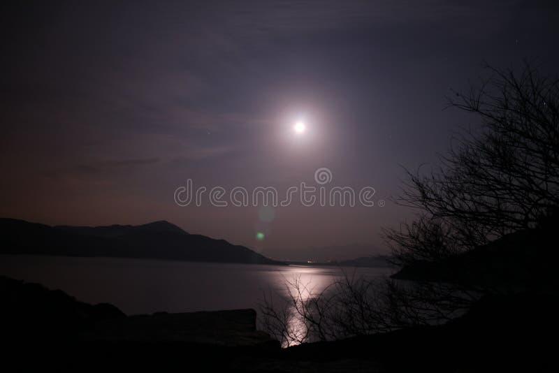 月亮心情 库存图片