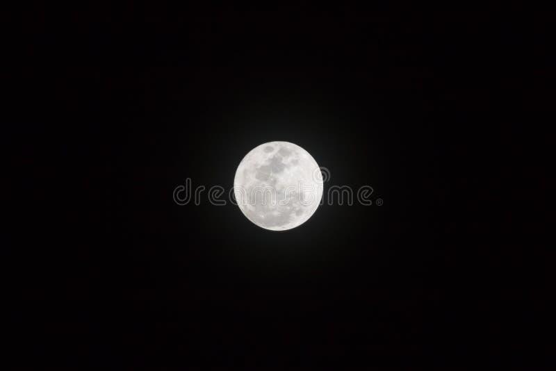 月亮是一个天体那轨道行星地球 库存图片