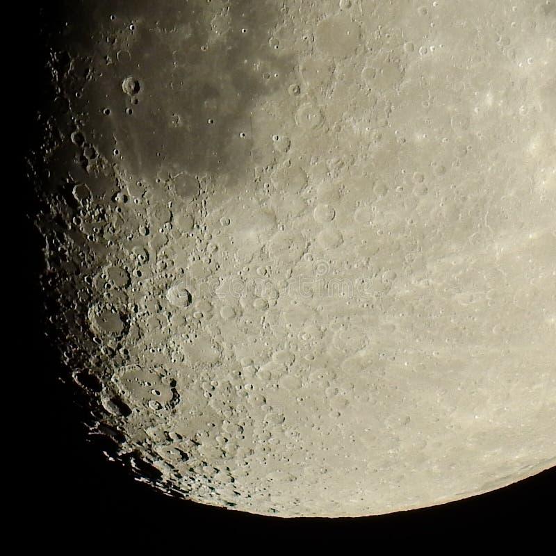 月亮火山口 图库摄影