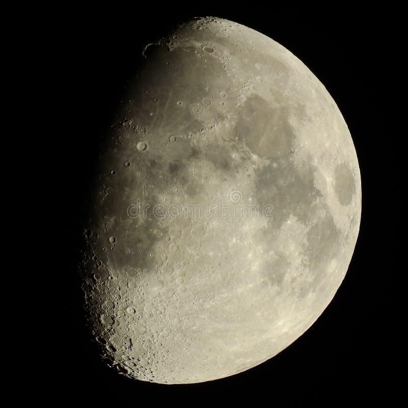 月亮火山口 免版税库存照片