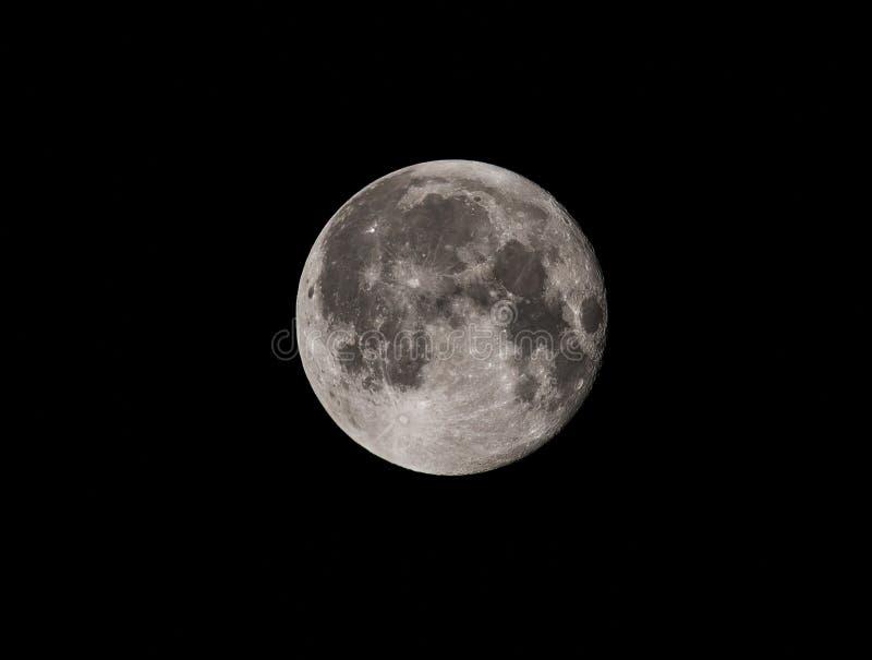 月亮的电话 库存照片