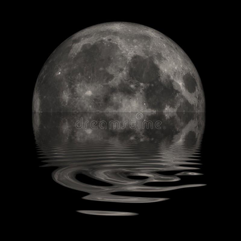 月亮 库存例证