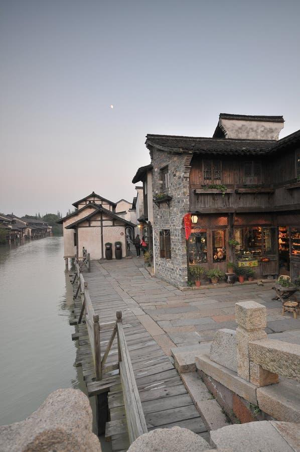 月光住宅wuzhen 免版税库存图片