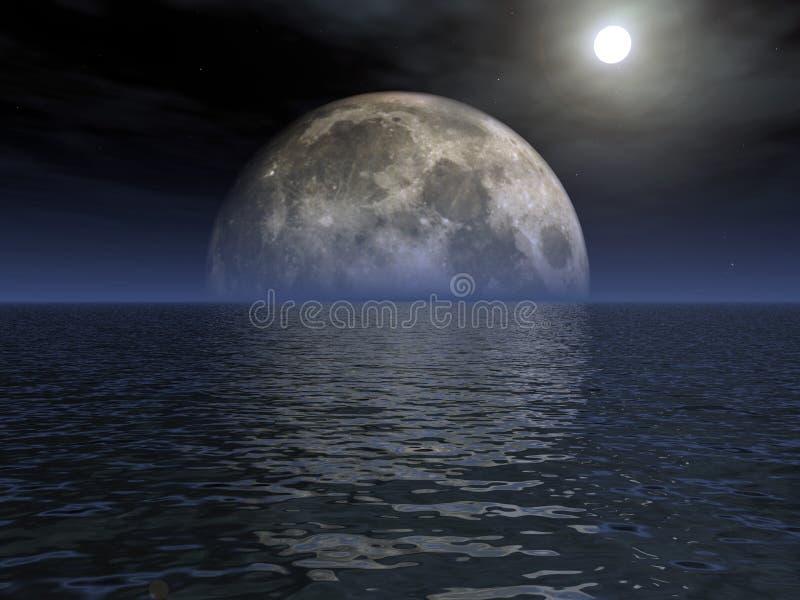 月光 库存例证