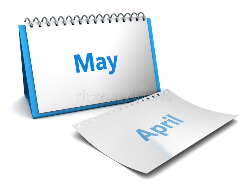 5月月 向量例证