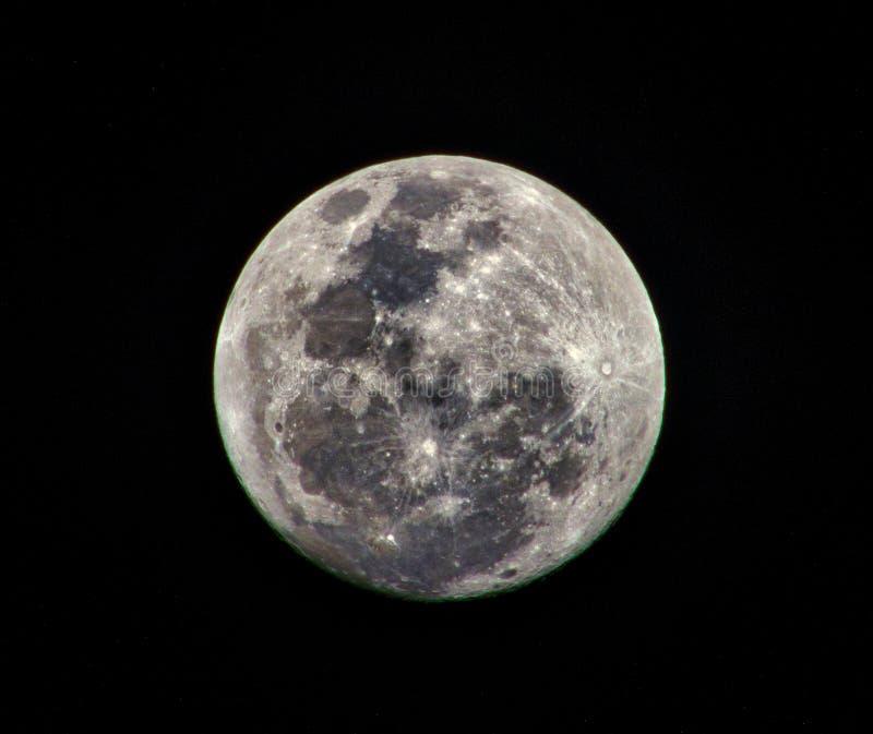 月球射击 库存照片