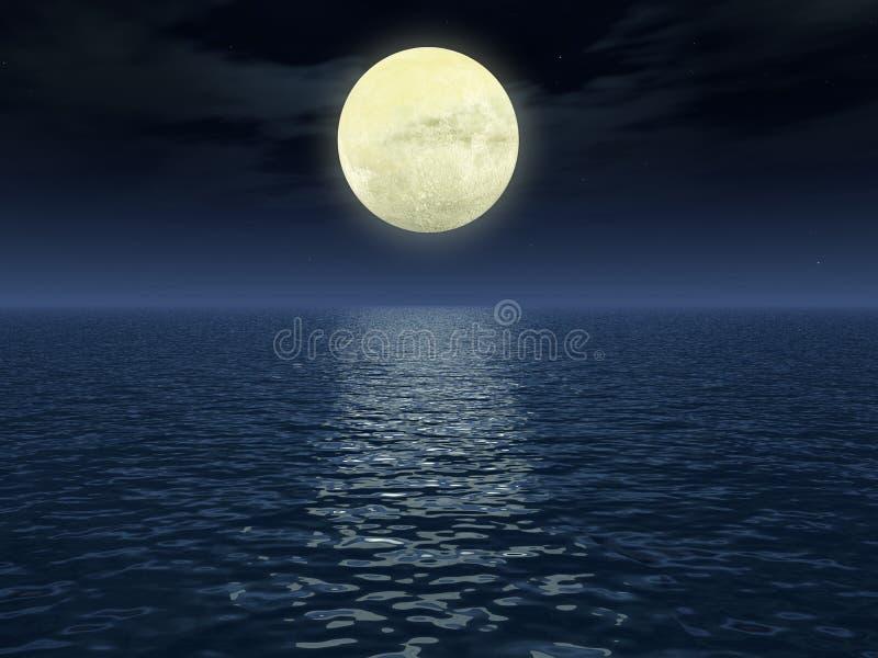 月球路径 库存照片