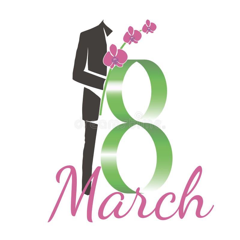 3月第八 免版税库存图片