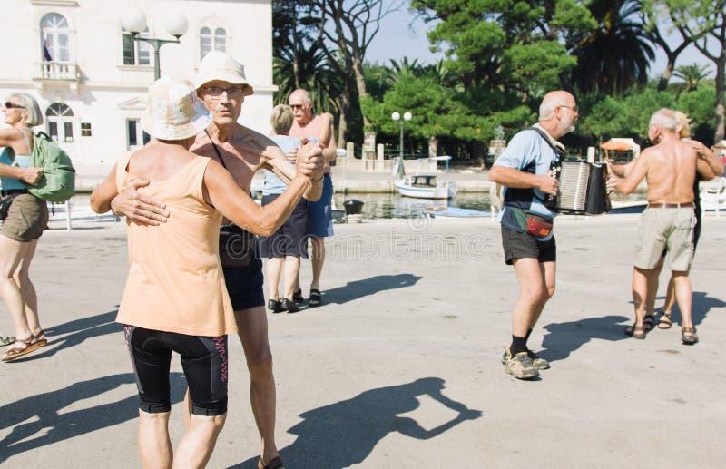 2011年9月22日,音乐和舞蹈竞争在克罗地亚 免版税库存照片