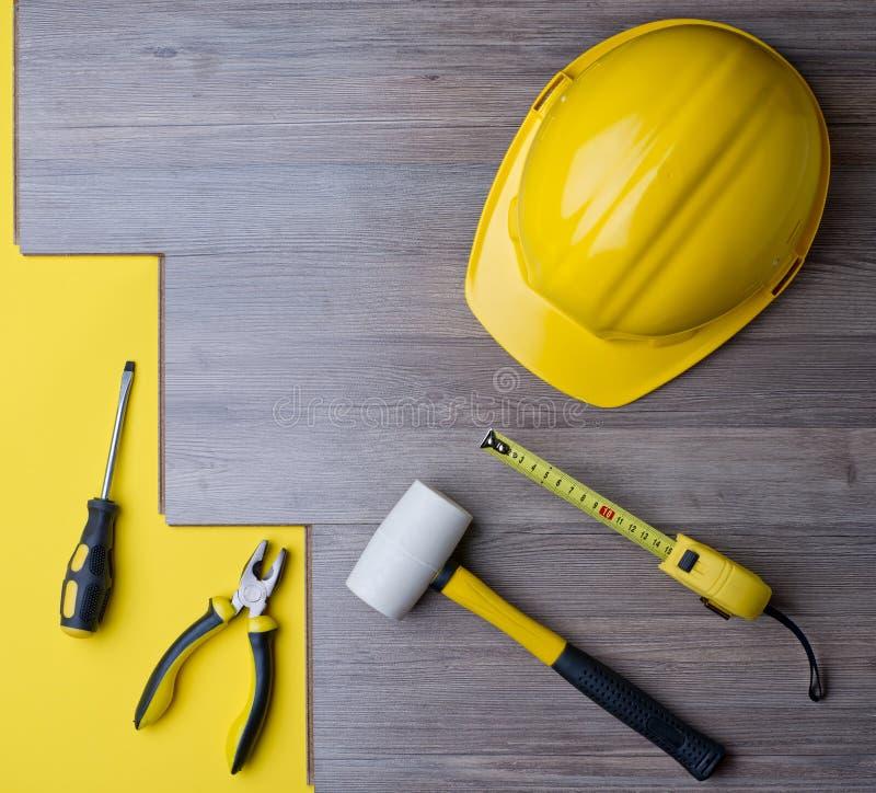层压制品和工具 免版税库存图片