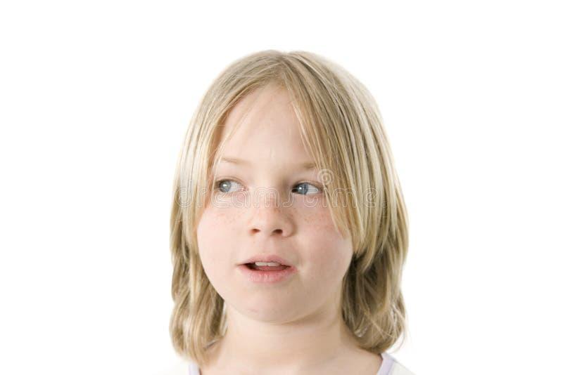 有乐趣的女孩 免版税库存照片