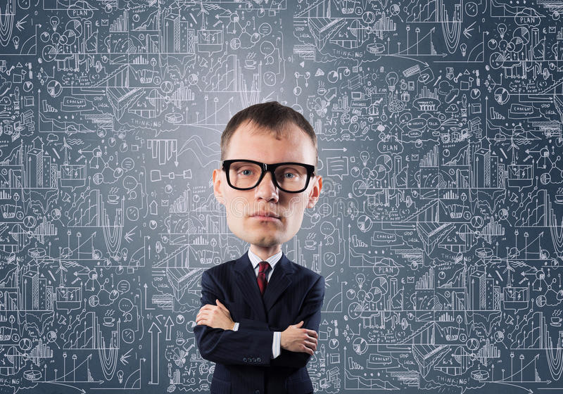 Download 他有了不起的头脑 库存图片. 图片 包括有 腋窝, 生意人, 面部, 文化, 利息, 表达式, 科学家, 智能 - 59105795
