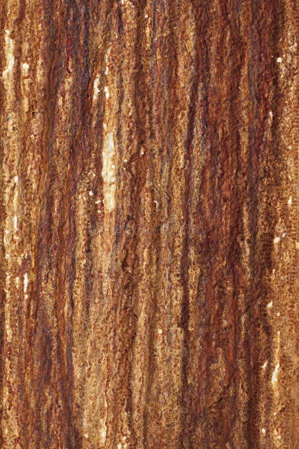有使用的铁锈的墙壁作为背景 免版税库存图片