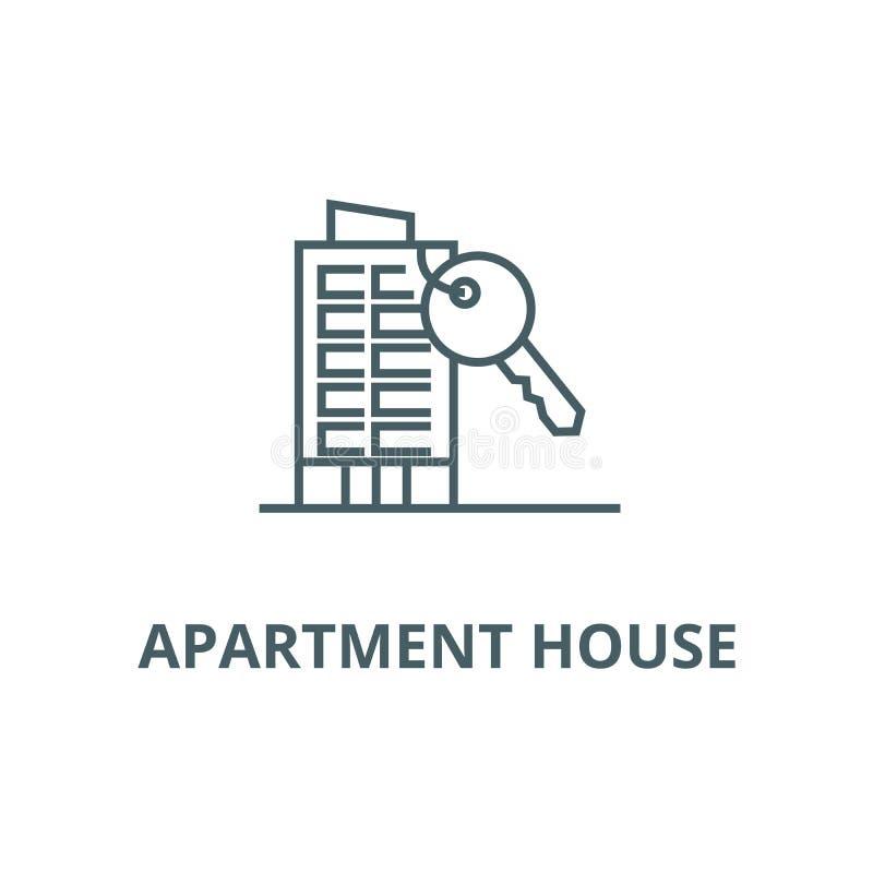 有关键线的象,传染媒介公寓 有关键概述标志的,概念标志,平的例证公寓 向量例证