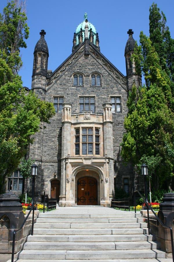 有历史大厦的入口 库存图片