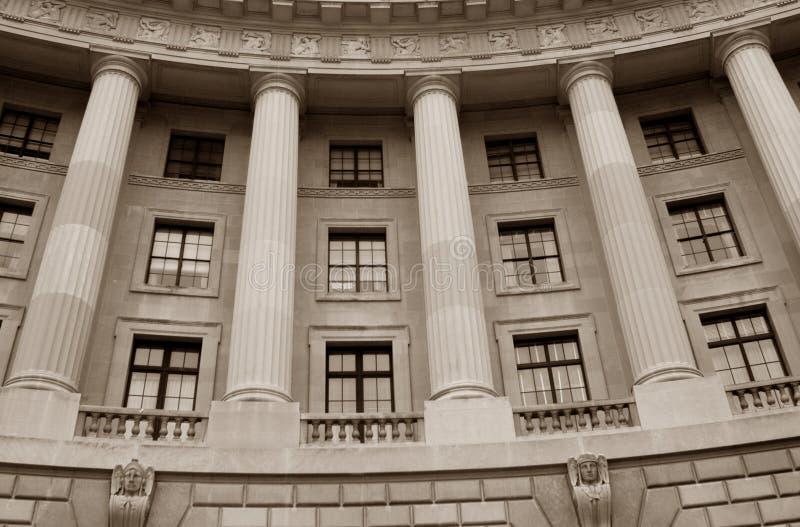 有历史大厦的政府 免版税库存图片