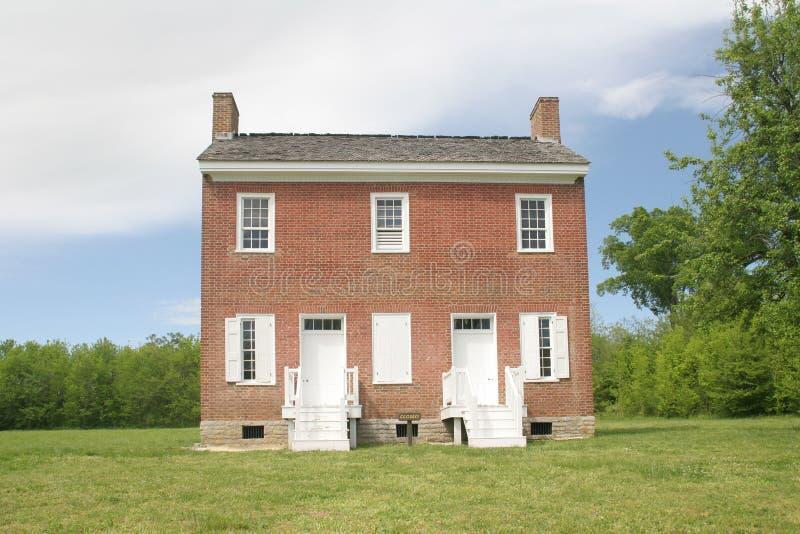 有历史的家 免版税图库摄影