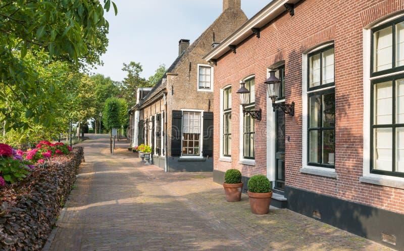 有历史的房子的Herengracht街道Du的 免版税图库摄影