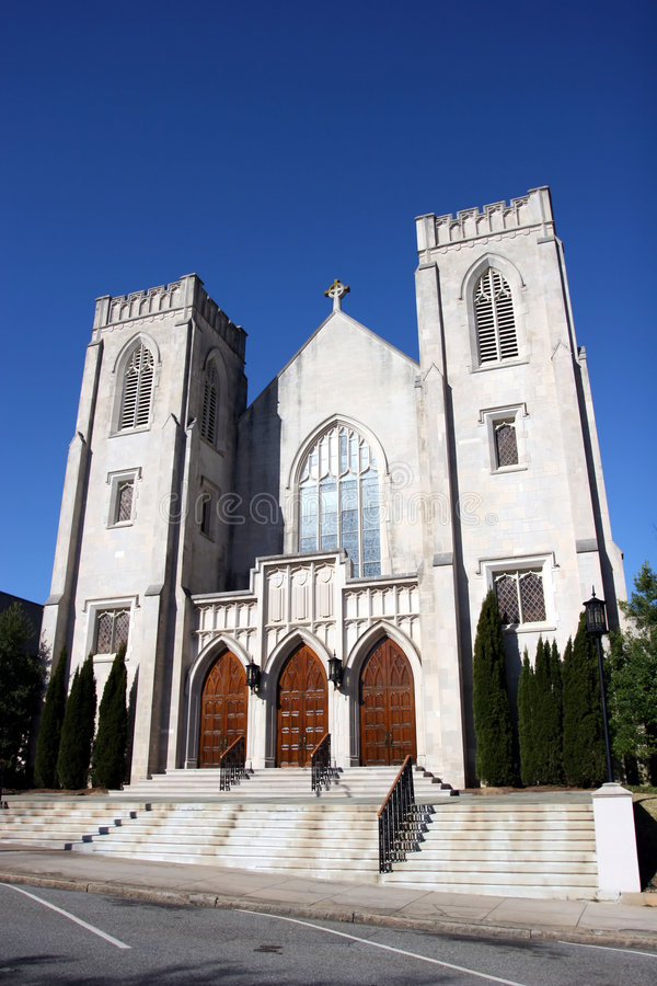 有历史的教会 库存图片