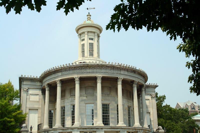 有历史的费城 免版税库存图片