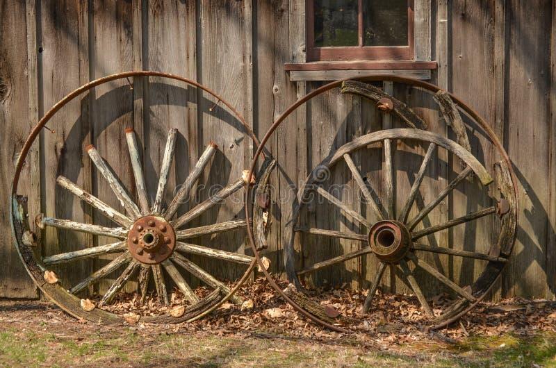 有历史的轮子 免版税库存图片