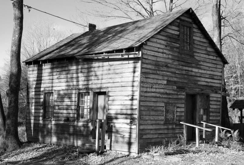 有历史的millbrook村庄 库存图片
