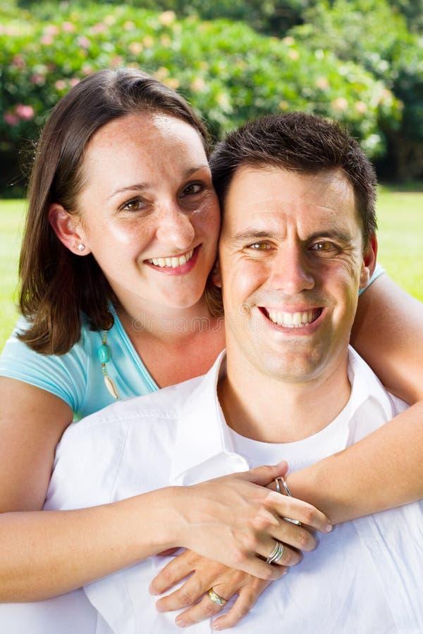 有同情心的夫妇 免版税库存照片