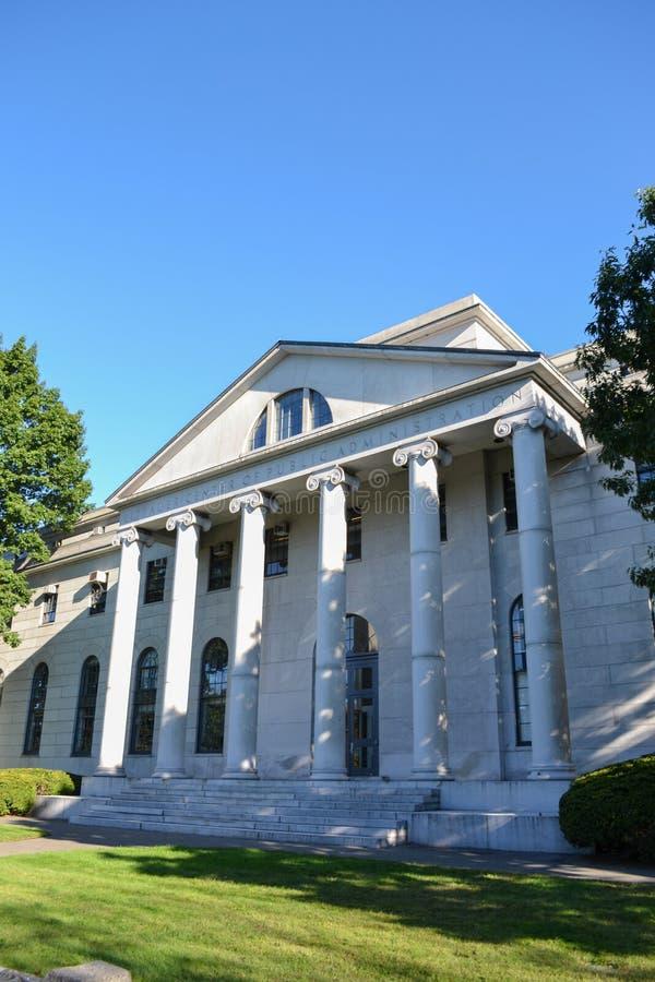有名望的哈佛大学 免版税库存照片