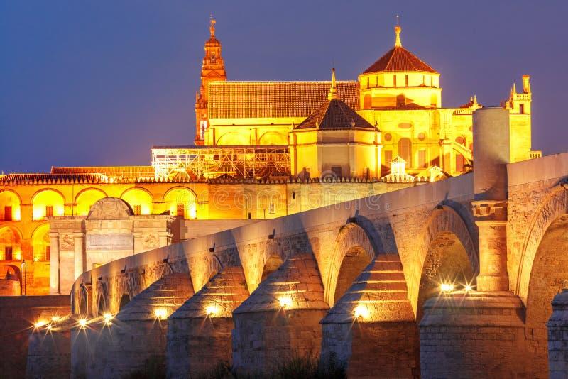 有启发性清真大寺梅斯基塔,科多巴,西班牙 免版税库存图片