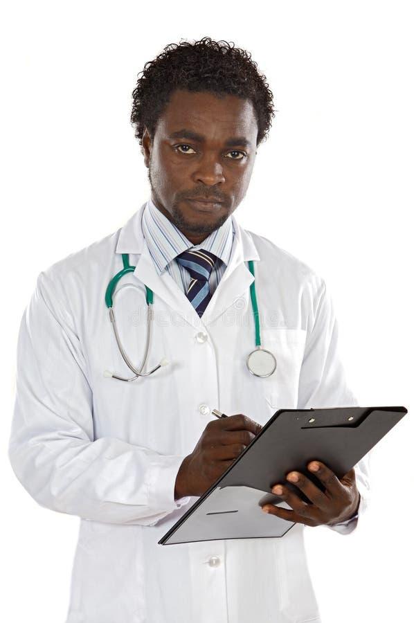 有吸引力的医生年轻人 免版税图库摄影