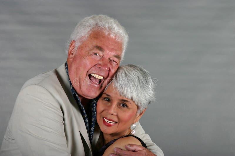 有吸引力的夫妇成熟 免版税库存照片