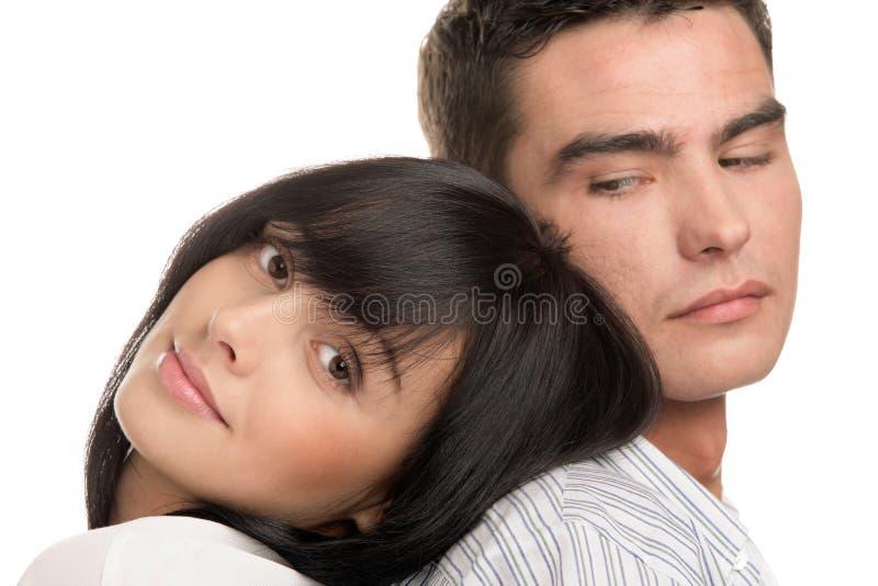 有吸引力的夫妇 免版税图库摄影